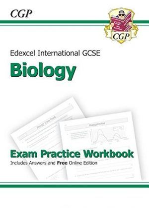 Edexcel Certificate / International GCSE Biology Exam Practice Workbook with Answers & Online Edition (A*-G Course) by CGP Books