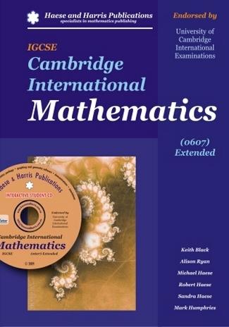 IGCSE Cambridge International Mathematics: 0607 Extended by Michael Haese