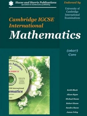 Cambridge IGCSE International Mathematics 0607 Core by Keith Black