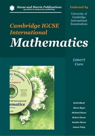 Cambridge IGCSE International Mathematics 0607 Core by Keith Black