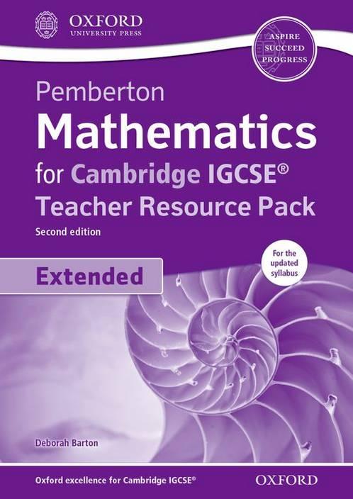 Mathematics for Cambridge IGCSE Teacher Resource Pack