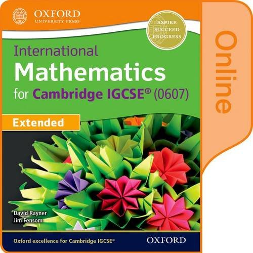 International Maths for Cambridge IGCSE: Student Book by David Rayner