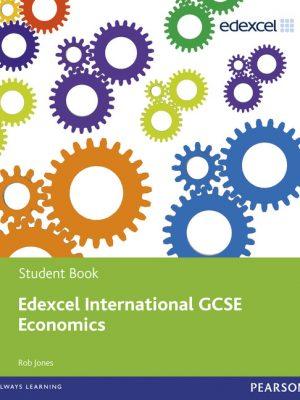 Edexcel International GCSE Economics Student Book with ActiveBook CD by Rob Jones