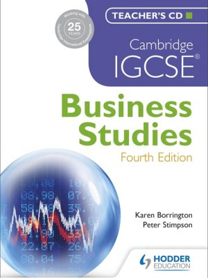 Cambridge IGCSE Business Studies by Karen Borrington