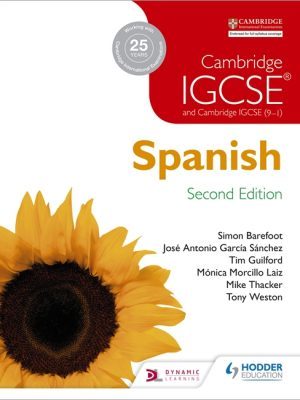 Cambridge IGCSE Spanish Student Book by Jose Antonio Garcia Sanchez