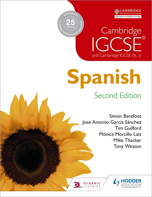 Cambridge IGCSE Spanish Student Book by Jose Antonio Garcia Sanchez