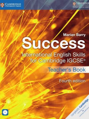Success International English Skills for Cambridge IGCSE (R) Teacher's Book with Audio CDs (2) by Marian Barry