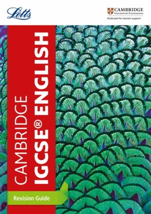 Cambridge IGCSE English Revision Guide by Letts Cambridge IGCSE