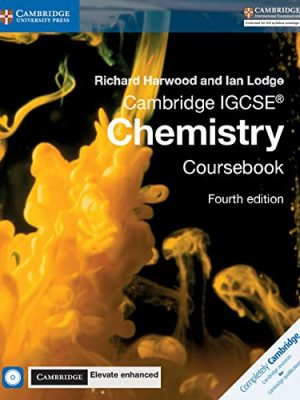 Cambridge IGCSE Chemistry Coursebook with CD-ROM and Cambridge Elevate Enhanced Edition (2 Years) ISBN: 9781316637722