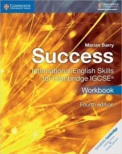 Success International English Skills for Cambridge IGCSE (R) Workbook - Marian Barry