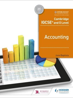 Cambridge IGCSE and O Level Accounting - June Baptista