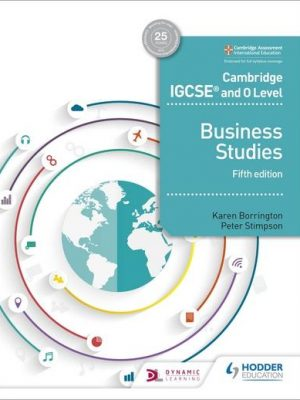 Cambridge IGCSE and O Level Business Studies 5th edition - Karen Borrington
