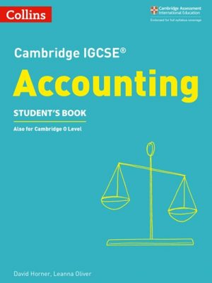Cambridge IGCSE (R) Accounting Student's Book (Cambridge International Examinations) - David Horner