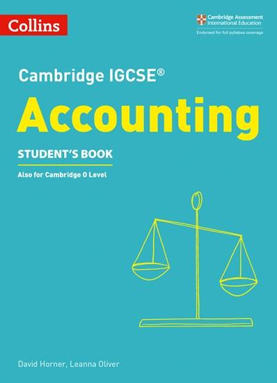 Cambridge IGCSE (R) Accounting Student's Book (Cambridge International Examinations) - David Horner