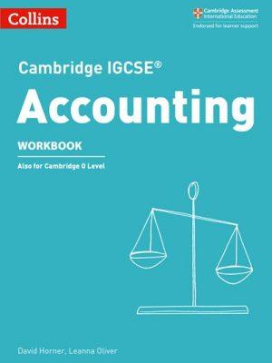 Cambridge IGCSE (R) Accounting Workbook (Cambridge International Examinations) - David Horner