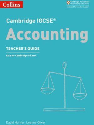 Cambridge IGCSE (R) Accounting Teacher's Guide (Cambridge International Examinations) - David Horner