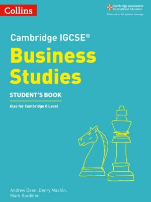 Cambridge IGCSE (R) Business Studies Student's Book (Cambridge International Examinations) -