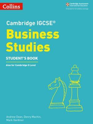 Cambridge IGCSE (R) Business Studies Student's Book (Cambridge International Examinations) -