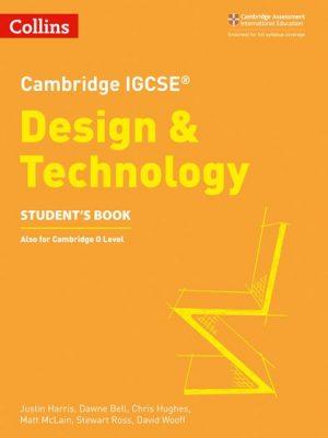 Cambridge IGCSE (R) Design and Technology Student's Book (Cambridge International Examinations) - Collins