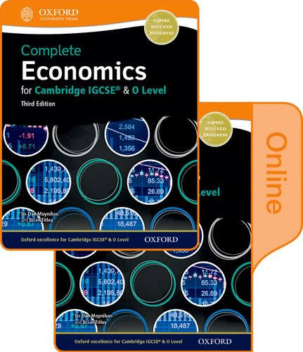 Complete Economics for Cambridge IGCSE (R) and O-level: Print & Online Student Book Pack - Dan Moynihan