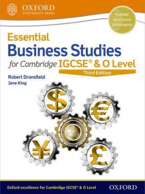 Essential Business Studies for Cambridge IGCSE (R) & O Level - Robert Dransfield