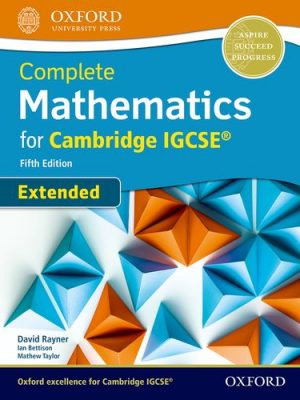 Complete Mathematics for Cambridge IGCSE (R) Student Book (Extended) - David Rayner