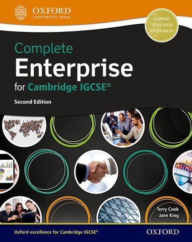 Complete Enterprise for Cambridge IGCSE (R) - Terry Cook