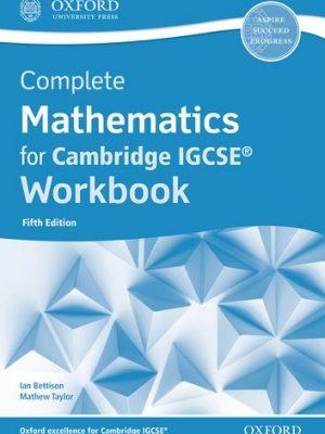 Complete Mathematics for Cambridge IGCSE (R) Workbook (Core & Extended) - Ian Bettison