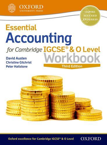 Essential Accounting for Cambridge IGCSE (R) & O Level Workbook - David Austen