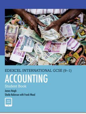 Edexcel International GCSE (9-1) Accounting Student Book - James Haigh