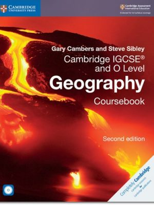 Cambridge IGCSE (R) and O Level Geography Coursebook with CD-ROM - Gary Cambers