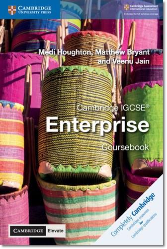 Cambridge IGCSE (R) Enterprise Coursebook with Cambridge Elevate Edition (2 Years) - Medi Houghton