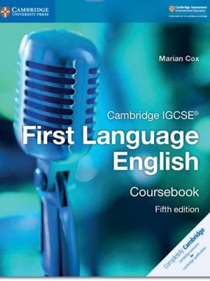 Cambridge IGCSE (R) First Language English Coursebook - Marian Cox
