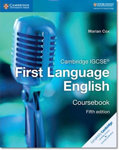 Cambridge IGCSE (R) First Language English Coursebook - Marian Cox