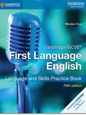 Cambridge IGCSE (R) First Language English Language and Skills Practice Book - Marian Cox